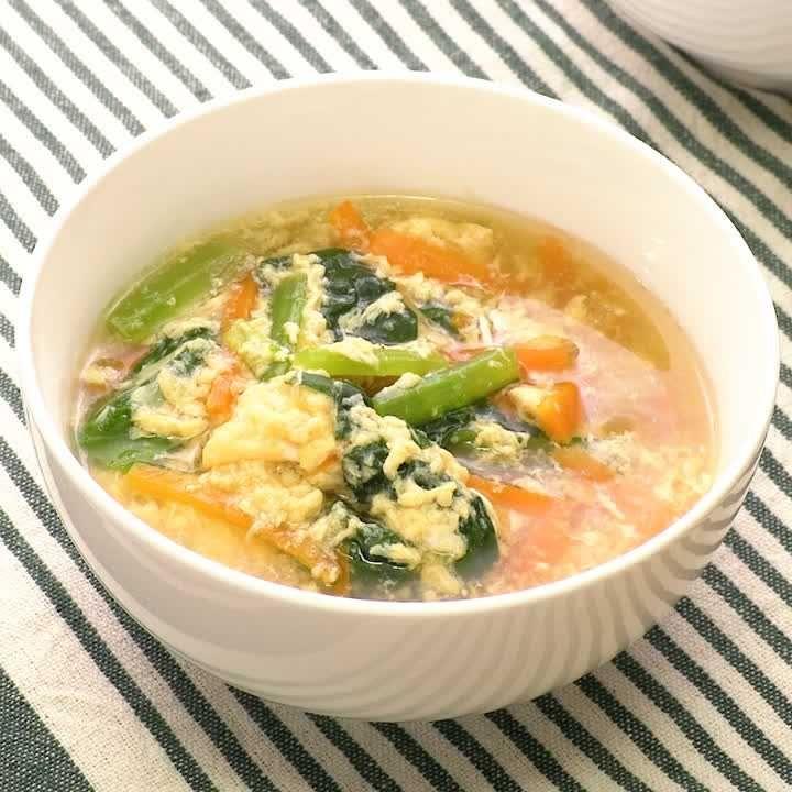スープ 人参