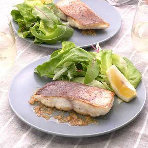 「白身魚ソテーの白ワインバターソース」のレシピ動画
