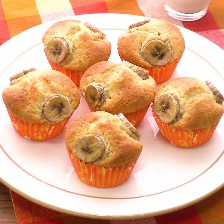 ホット ケーキ ミックス バナナ マフィン