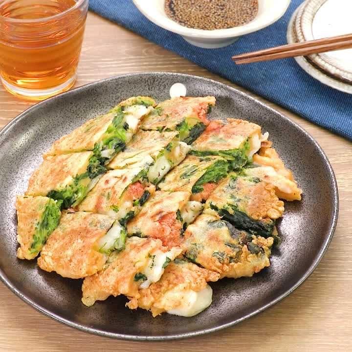 チヂミ ほうれん草 子どもと作る「ほうれん草とカリカリチーズのチヂミ」で野菜をたくさん食べよう!