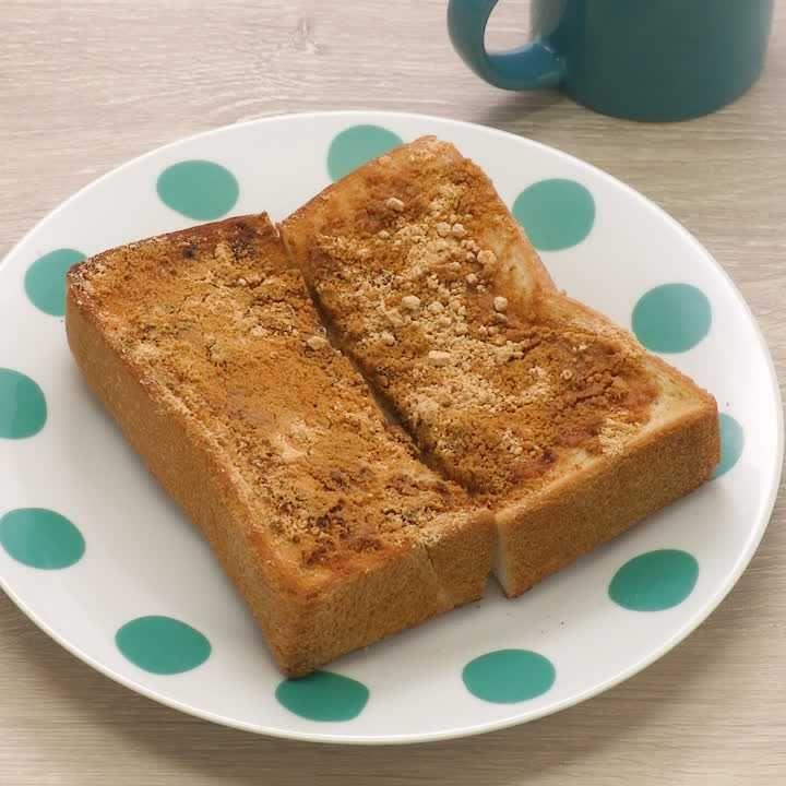 トースト きな粉 トーストにきな粉は合う?粉っぽくて食べにくいときの対処法も!