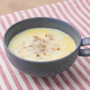「ミルクオニオンスープ」のレシピ動画