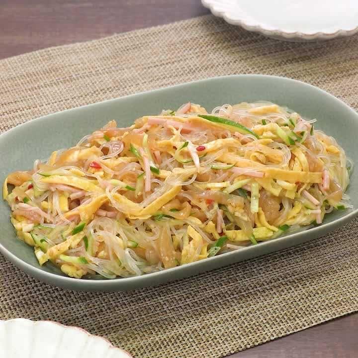クラゲ 中華 料理