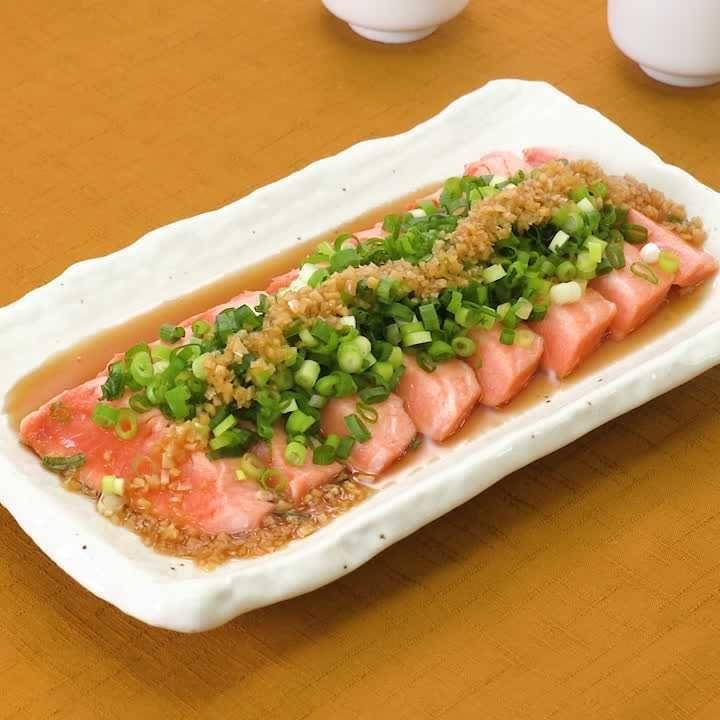 刺身 レシピ サーモン