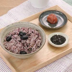 「炊飯器で黒豆おこわ」のレシピ動画