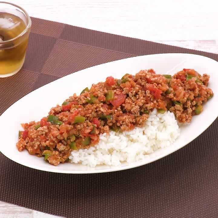 ひき肉 トマト 缶