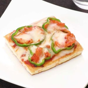 「豆腐を使ったピザ」のレシピ動画