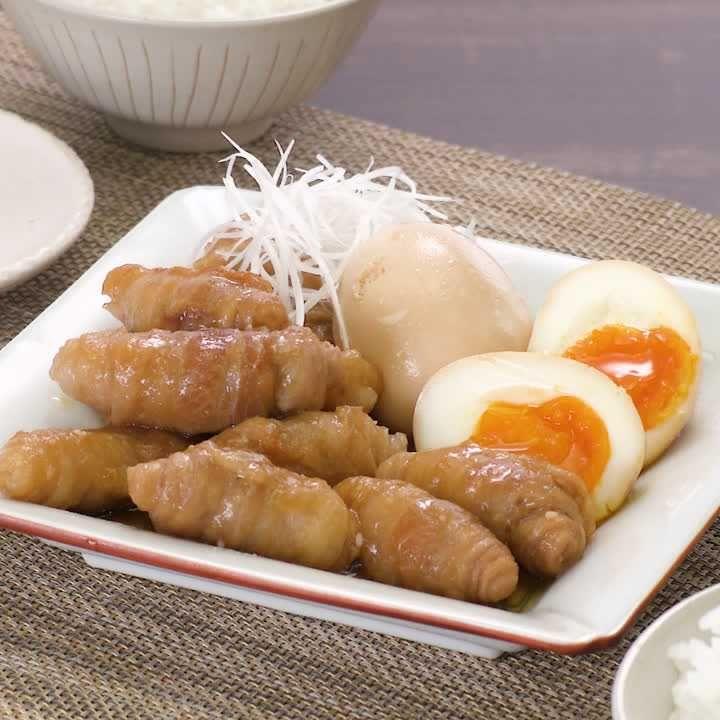 肉 チャーシュー 薄切り ぐるぐるチャーシュー by藤井恵さんの料理レシピ
