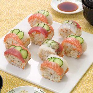 「ロールちらし寿司」のレシピ動画