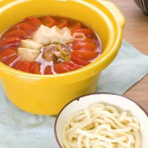 「鶏肉のトマトすき煮」のレシピ動画