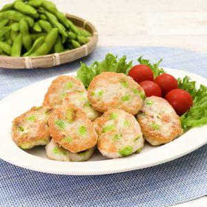 「枝豆のお豆腐ナゲット」のレシピ動画