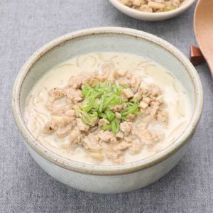 「しらたきの豆乳麺風」のレシピ動画