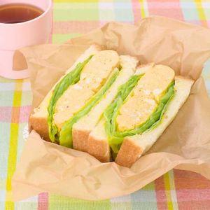 「ふわふわ卵サンド弁当」のレシピ動画