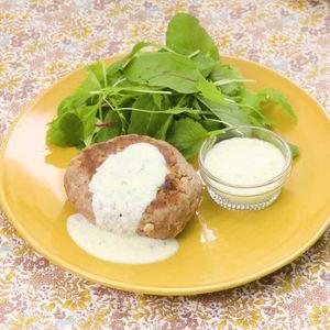 「えのきハンバーグのヨーグルトソース」のレシピ動画