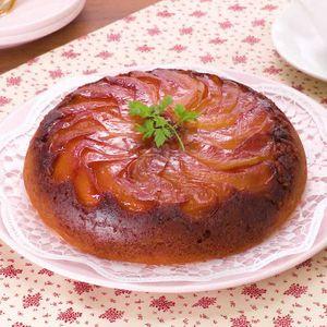 「炊飯器カラメルリンゴケーキ」のレシピ動画