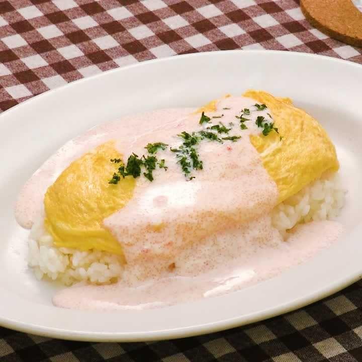 バター ライス オムライス