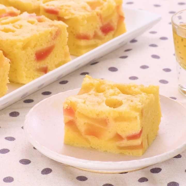 さつまいも 蒸し ホット パン ミックス ケーキ