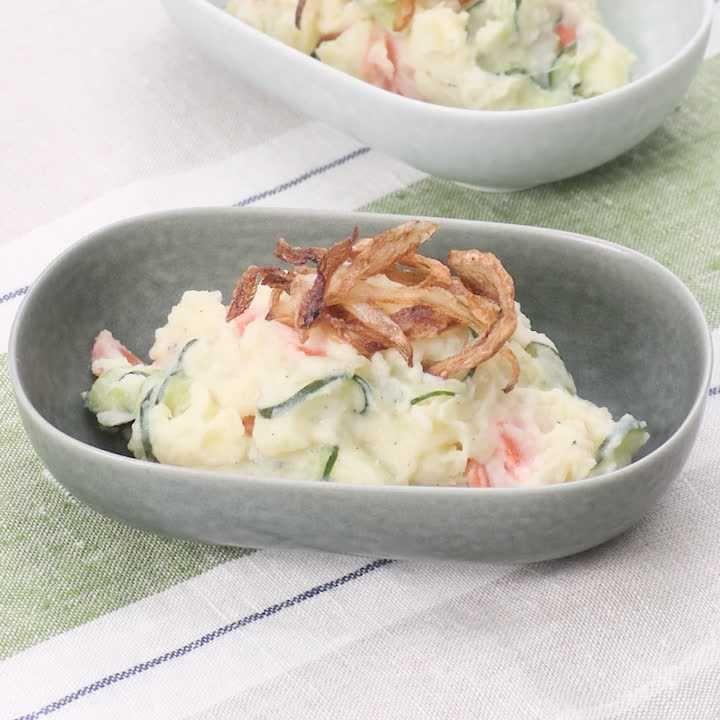 サラダ マヨネーズ を 使わ ない ポテト