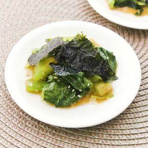 「チンゲン菜のチョレギサラダ」のレシピ動画