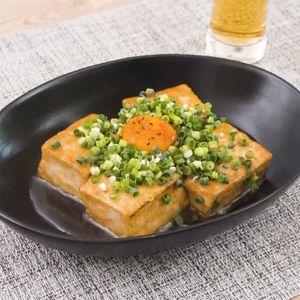 「てりたま焼き豆腐」のレシピ動画
