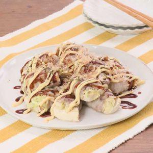 「豚巻き焼き豆腐」のレシピ動画