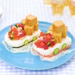 「宝船すしケーキ」のレシピ動画