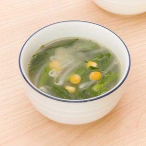 「ニラともやしの塩バタースープ」のレシピ動画