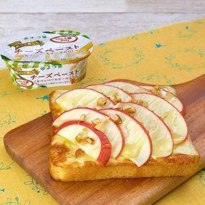 「りんごのハニーチーズトースト」のレシピ動画