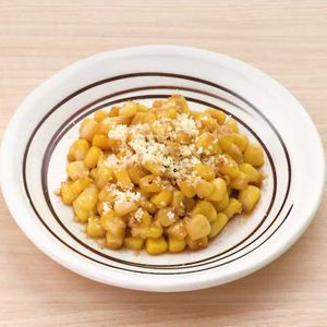 「コーンの粉チーズポン酢炒め」のレシピ動画